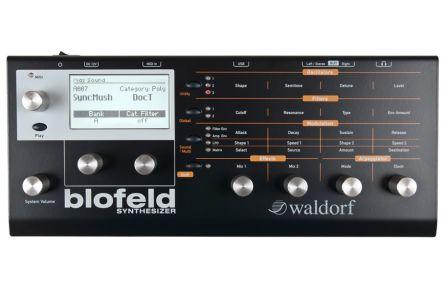 Waldorf Blofeld Desktop black - 1x opened box
