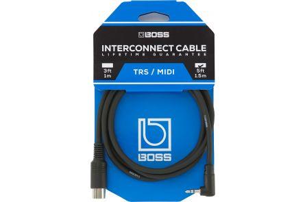 Boss BMIDI-5-35 TRS/MIDI Cable 1.5m/5ft.