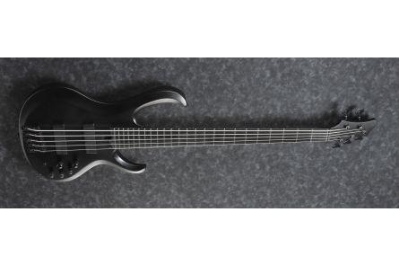 Ibanez BTB625EX BKF Iron Label - Black Flat