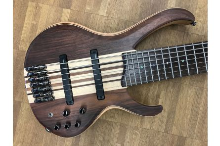 Ibanez BTB7 NTF Bass Workshop 7-string bass - Vintage Natural Flat