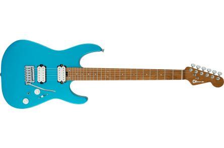 Charvel Pro-Mod DK24 HH 2PT CM - Matte Blue Frost