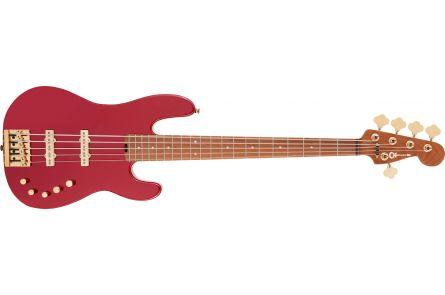 Charvel Pro-Mod San Dimas Bass JJ V CM - Candy Apple Red