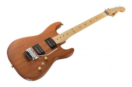 Charvel USA Custom Shop Strat HH FR - Natural Mahogany