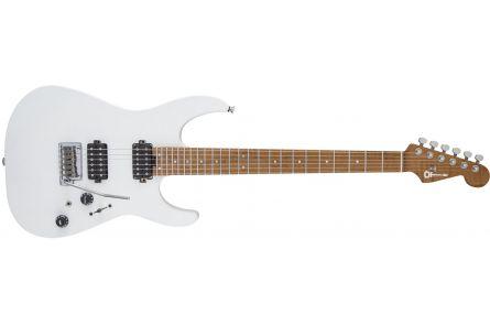 Charvel USA Select DK24 HH 2PT CM - Satin White