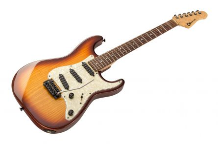 Charvel USA Custom Shop San Dimas Reissue 1995 Strat - Sunburst RW