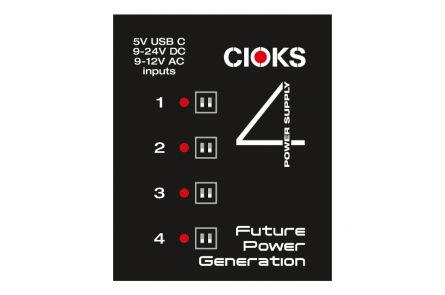 Cioks 4 Power Supply - 1x opened box
