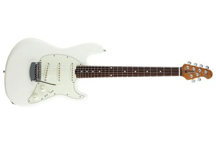 Music Man USA Cutlass RS SSS Guitar IW - Ivory White RW