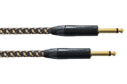 Cordial CXI 7,5 PP-EDITION 25 BLACK/GOLD