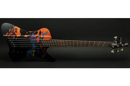 Dingwall D-Roc Hellboy Limited 5 BK - Black Matte PF