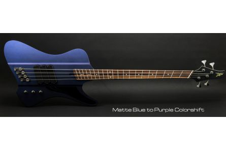 Dingwall D-Roc Standard 5 BP - Blue to Purple Colorshift Matte PF