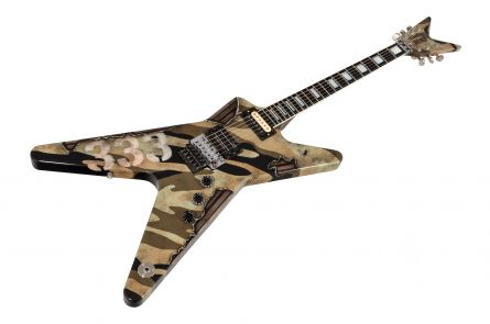 Dean USA Custom Shop Dime ML - War Camo
