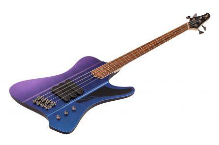 Dingwall D-Roc Standard 4 BP - Blue to Purple Colorshift Matte PF