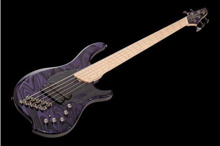 Dingwall NG2 Nolly Signature 5 PMS - Purple Metallic Swirl MN
