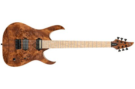 Mayones Duvell 6 Elite Custom T.E.W. Eye Poplar - Natural RAW