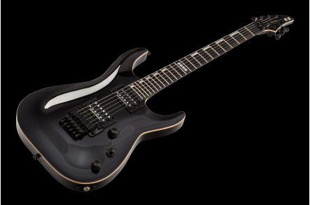 ESP E-II Horizon FR BK - Black w/ 3+3 headstock