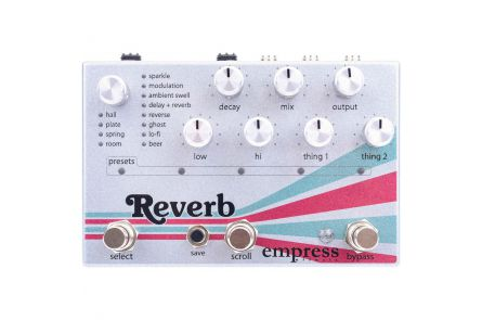 Empress Effects Reverb - b-stock (1x opened box)