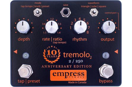 Empress Effects 10th Anniversary Tremolo