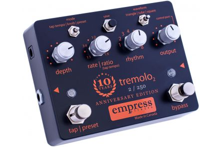 Empress Effects 10th Anniversary Tremolo
