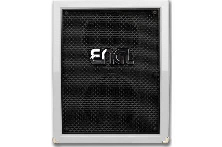 Engl Pro Cabinet 2x12 Vertical V30 White E212VW - Limited Edition