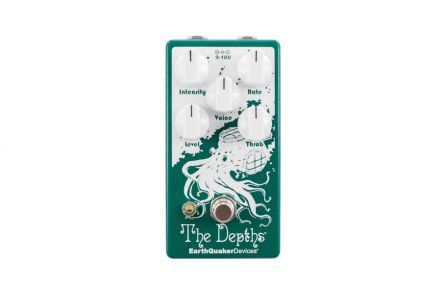 EarthQuaker Devices The Depths V2 - Analog Optical Vibe Machine