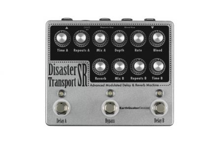 EarthQuaker Devices Disaster Transport SR - Advanced Modulated Delay / Reverb Machine
