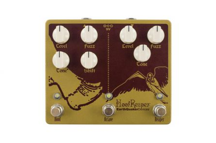 EarthQuaker Devices Hoof Reaper V2 - Double Fuzz with Octave Up