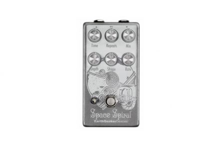 EarthQuaker Devices Space Spiral V2 - Modulated Delay Device