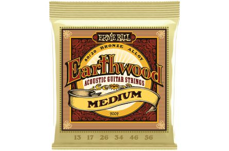 Ernie Ball 2002 Earthwood Bronze Medium .013 - .056