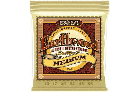 Ernie Ball 2002 Earthwood Bronze Medium .013 - .056