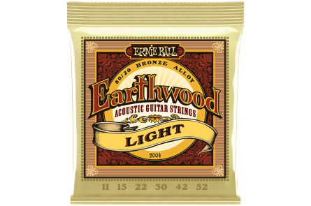 Ernie Ball 2004 Earthwood Bronze Light .011 - .052