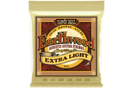 Ernie Ball 2006 Earthwood Bronze Extra Light .010 - .050