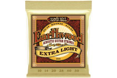 Ernie Ball 2006 Earthwood Bronze Extra Light .010 - .050