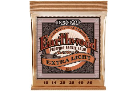Ernie Ball 2150 Earthwood Phosphor Bronze Extra Light .010 - .050
