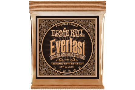 Ernie Ball 2550 Everlast Phosphor Bronze Extra Light .010 - .050