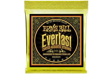 Ernie Ball 2554 Everlast Bronze Medium .013 - .056