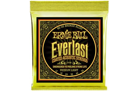 Ernie Ball 2556 Everlast Bronze Medium Light .012 - .054