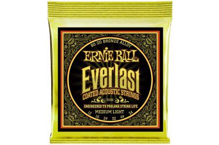 Ernie Ball 2556 Everlast Bronze Medium Light .012 - .054