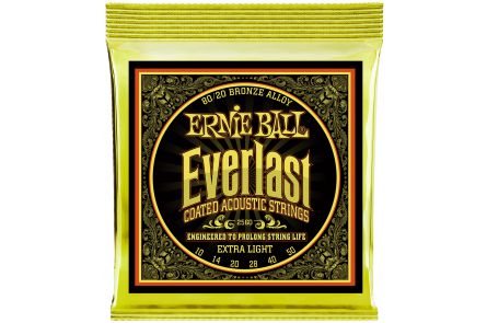 Ernie Ball 2560 Everlast Bronze Extra Light .010 - .050