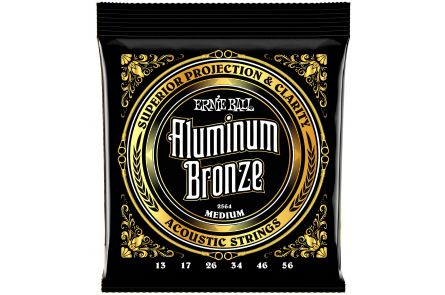 Ernie Ball 2564 Aluminum Bronze Medium .013 - .056