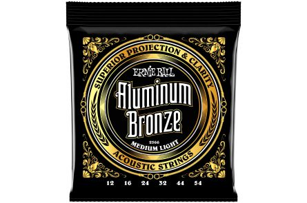 Ernie Ball 2566 Aluminum Bronze Medium Light .012 - .054