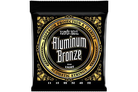 Ernie Ball 2568 Aluminum Bronze Light .011 - .052