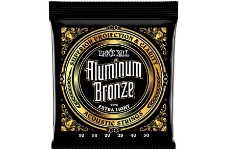 Ernie Ball 2570 Aluminum Bronze Extra Light .010 - .050