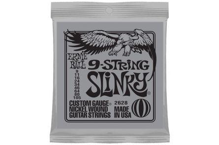 Ernie Ball 2628 9-String Slinky .009 - .105