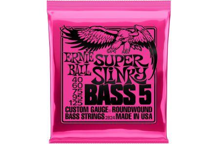 Ernie Ball 2824 Super Slinky 5-String Bass .040 - .125