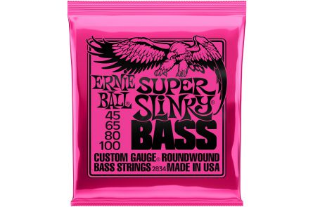 Ernie Ball 2834 Super Slinky Bass .045 - .100
