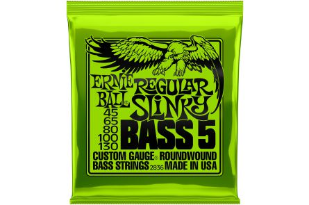 Ernie Ball 2836 Regular Slinky 5-String Bass .045 - .130