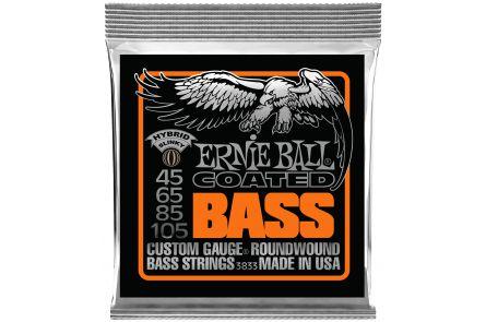 Ernie Ball 3833 Coated Hybrid Slinky Bass .045 - .105