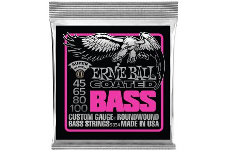 Ernie Ball 3834 Coated Super Slinky Bass .045 - .100