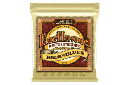 Ernie Ball 2008 Earthwood Bronze Rock & Blues .010 - .052