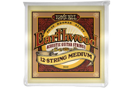 Ernie Ball 2012 Earthwood Bronze 12-String Medium .011 - .052